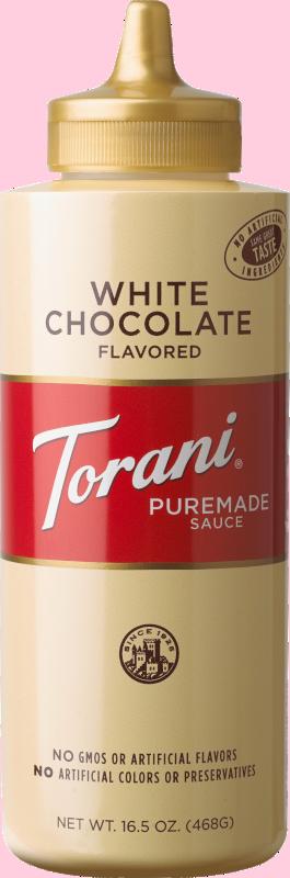 Puremade White Chocolate Sauce 16.5oz image