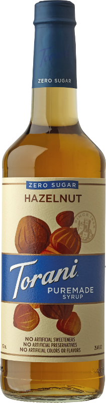 Puremade Zero Sugar Hazelnut Syrup image