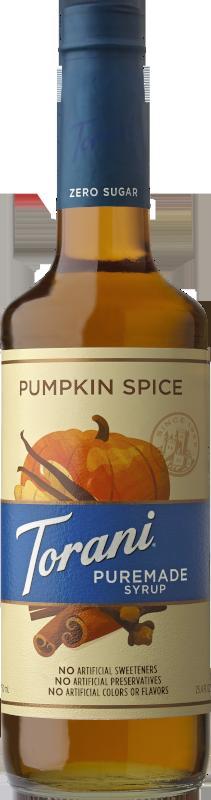 Puremade Zero Sugar Pumpkin Spice Syrup image