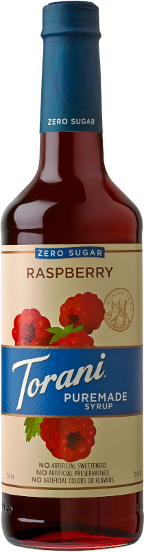 Puremade Zero Sugar Raspberry Syrup image
