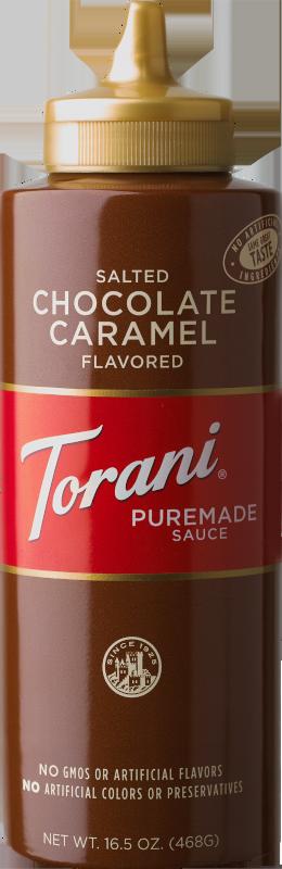 Salted Chocolate Caramel Sauce image