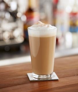 Bourbon Vanilla Caramel Latte image
