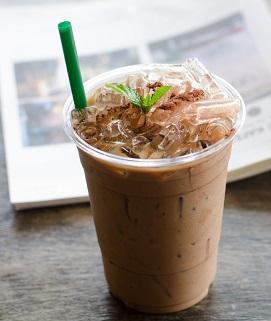 Iced Chocolate Mint Latte image