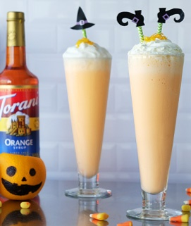 Orange Cream Milkshake Recipe Torani