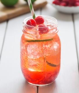 Raspberry Iced Tea image