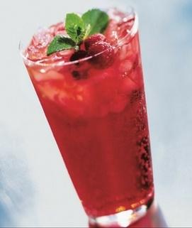 Red Raspberry Italian Soda image