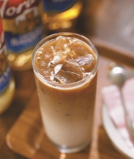 Iced Sugar Free Irish Cream Latte image