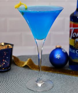 Blue Frost Martini image