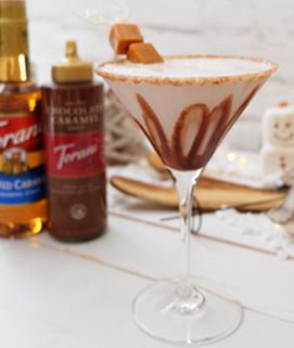 Torani Salted Caramel Martini image