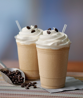 First Class Caramel Frappe image