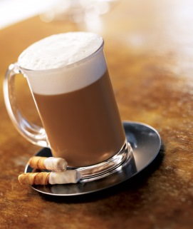 Frosted Cinnamon Roll Latte image