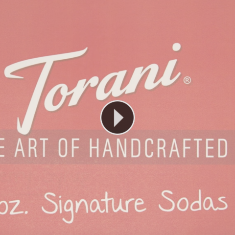 How to Make a Torani Signature Handcrafted Soda
