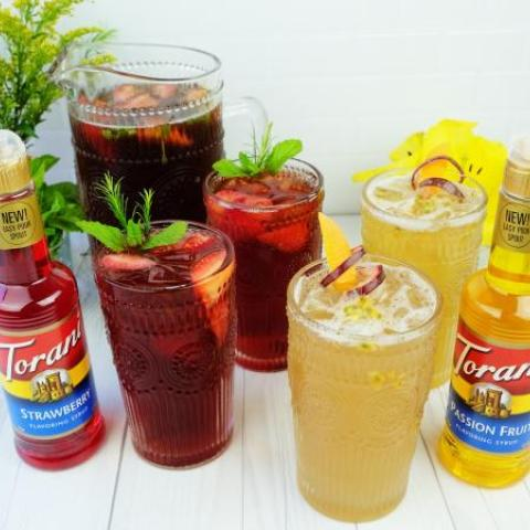 Refreshing Fruity Iced Teas