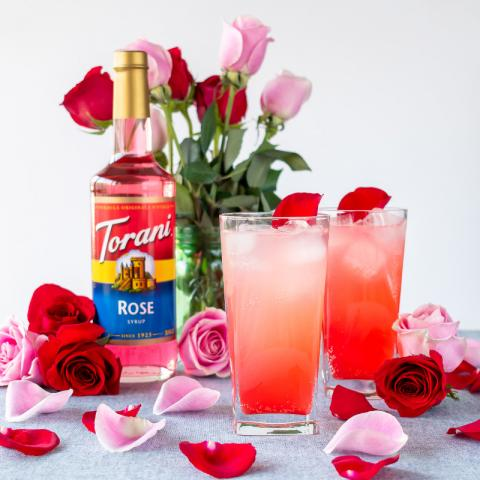 Rose Ginger Fizz