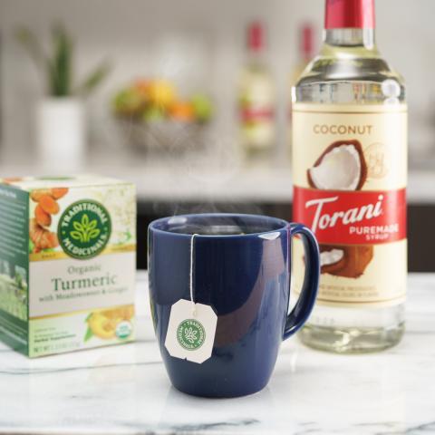 Coconut Turmeric Tea
