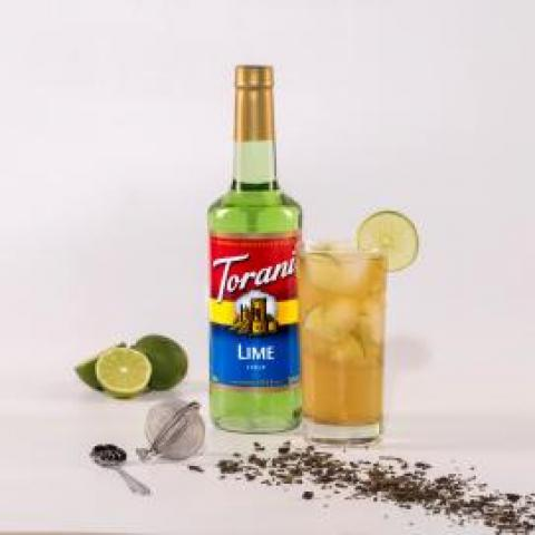 Lime Cold Brew Tea