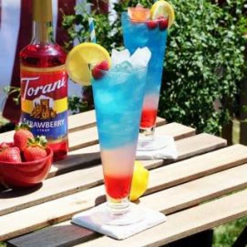 4th of July Sparkling Lemonade