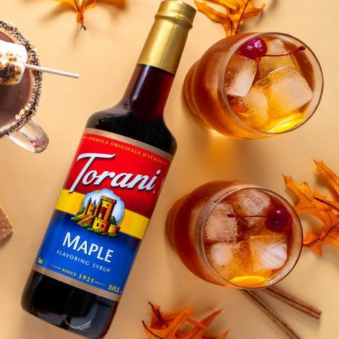 Maple Bourbon Old-Fashioned