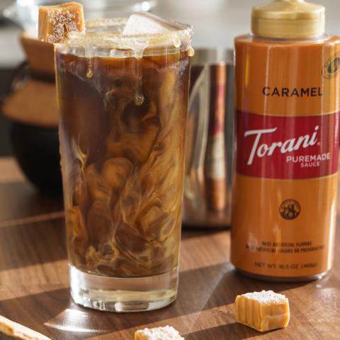 Iced Caramel Cold Brew