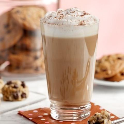 Sugar Free Caramel Chocolate Chip Cookie Latte
