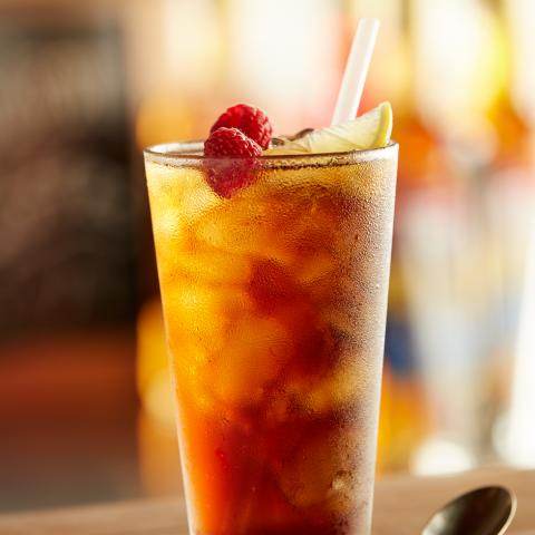 Blueberry Pucker Iced Tea