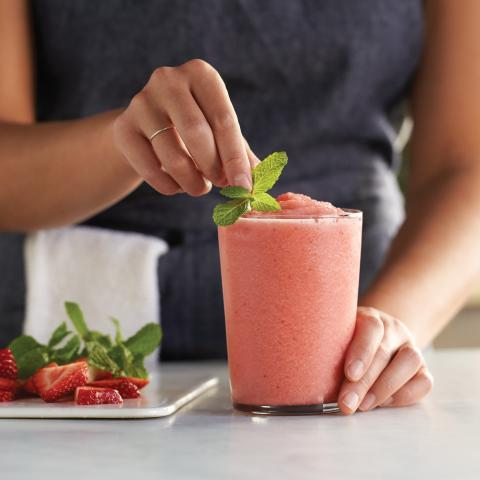 Better-for-You Strawberry Smoothie