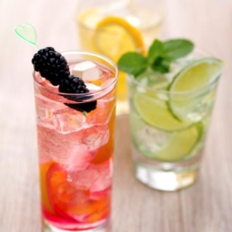 Blackberry Ginger Ale