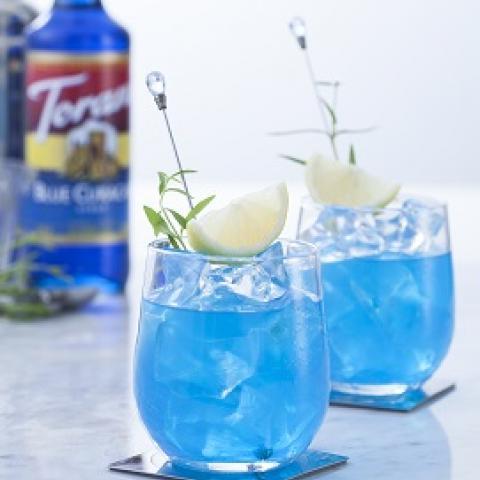 BonCafe Blue Lagoon Cocktail