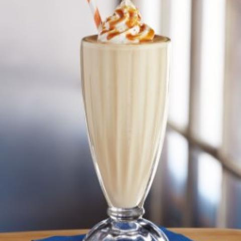 Caramelized Banana Milkshake