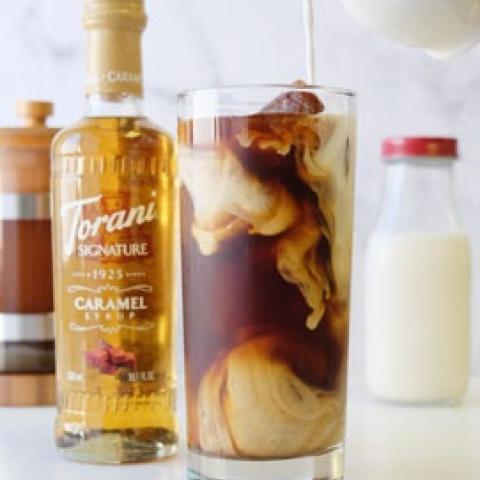 Torani Signature Caramel Creamer