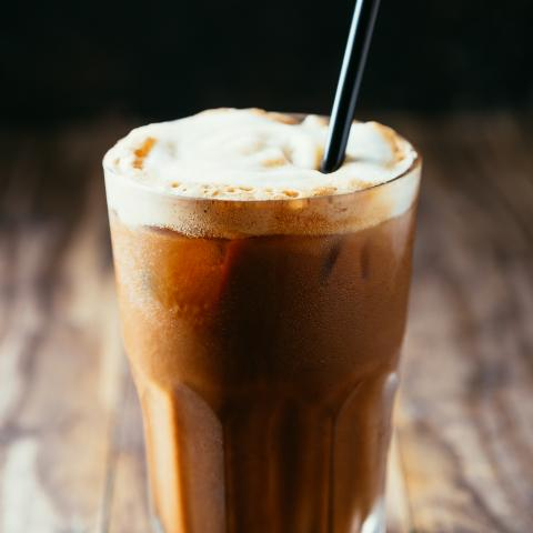 Caramelized Passion Fruit Cold Brew