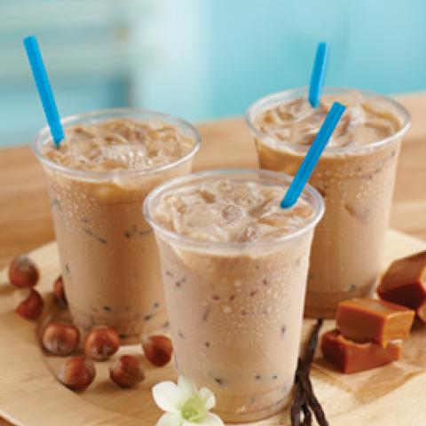 Iced Almond White Mocha