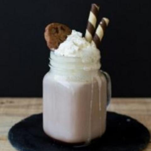 Chocolate Chip Cookie Frappe