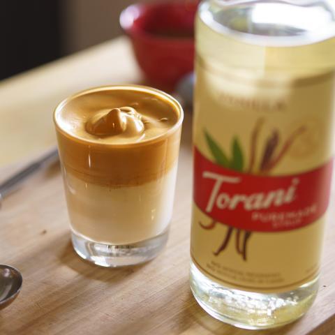 Vanilla Dalgona Coffee