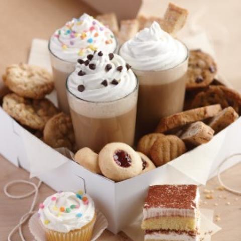 Cupcake Latte