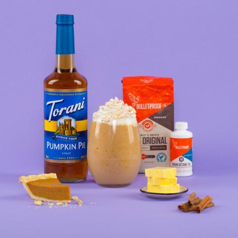 Bulletproof Pumpkin Spice Frappe