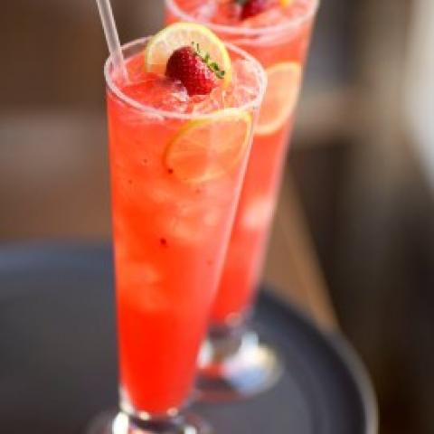 Signature Strawberry Lemonade