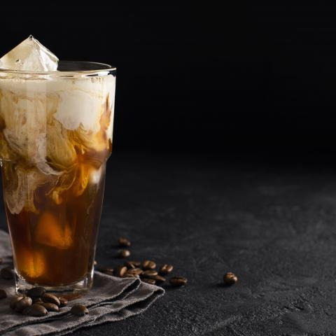 Maple Bourbon Iced Coffee