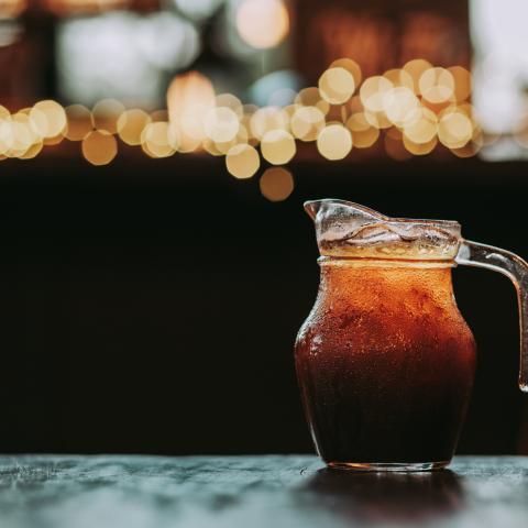 Salted Caramel Sesame Cold Brew (Batched)