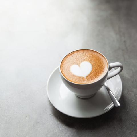 Skinny Salted Caramel Latte
