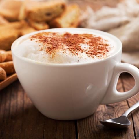 Sugar Free Irish Cream Cappuccino