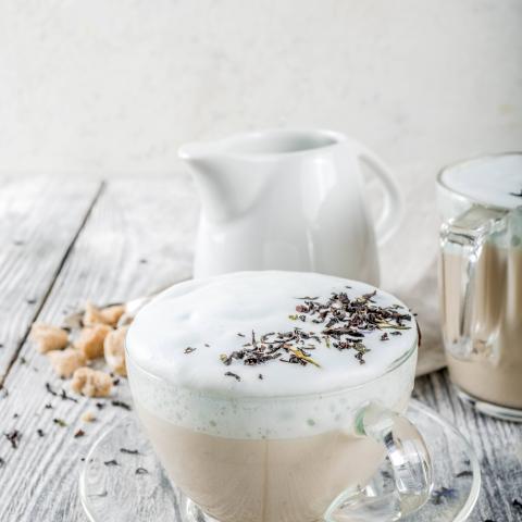 Sugar Free Chocolate Macadamia Nut Steamer