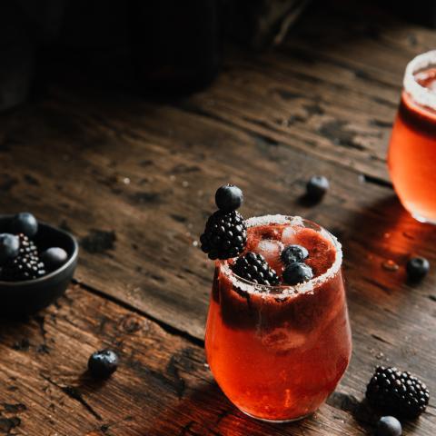 Shaken Berry Iced Tea