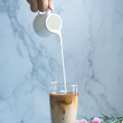 Rose Oat Milk Green Tea