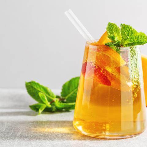 Sparkling Guava Tea