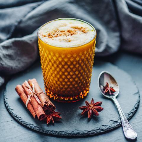 Ginger Pumpkin Cold Brew