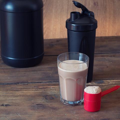 Sugar Free S'mores Protein Shake
