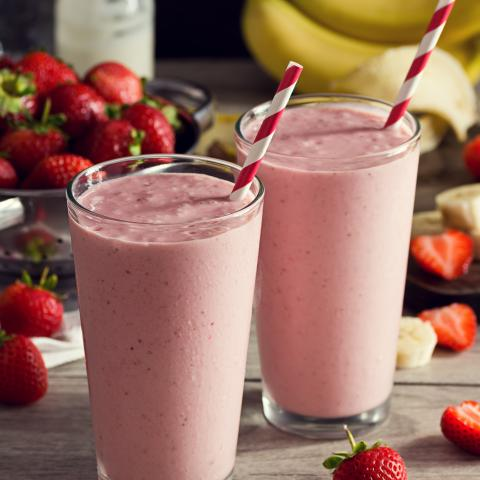 Red, White, and Blueberry Smoothie