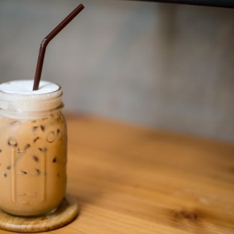 Skinny S'Mores Iced Coffee