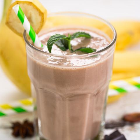 Chocolate Gone Banana Smoothie